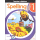 Spelling 1 Teacher Edition Book & CD 3rd Edition