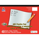 ABC Practice Tablet, White (12