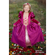 Medieval Queen Gown (Magenta) Small