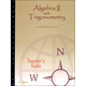 Algebra II with Trig Printed Teacher's Guide, Tests, Syllabus