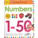 Numbers 1-50 Wipe Clean Workbook
