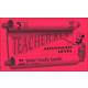Advanced Teacher Key for Lessons 105-130