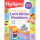 Highlights Write-On Wipe-Off Let's Write Numbers