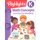Kindergarten Math Concepts (Highlights Learning Fun Workbook)