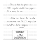 Regular Double Line Notebook Paper (ream)