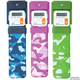 Mark-My-Time Digital Booklight Camouflage Print Assorted Color (Blue, Green or Pink)