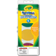 Crayola Washable Watercolor Set (4 Oval Pans and 1 Brush)