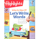Highlights Write-On Wipe-Off Let's Write Words