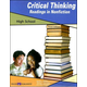Critical Thinking: Readings in Nonfiction High School Student and Key