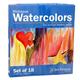 Richeson Tube Watercolors 18-color Set