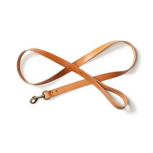 Bridle Leather Dog Leash