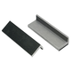 Lisle Aluminum Vise Jaw Pads Rubber Faced