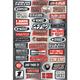 Factory Effex Sponsor Sticker Kit Fun Phrases