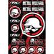 Factory Effex Metal Mulisha Sticker Sheet 2