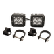 Rigid Industries Dually 2x2 LED Lights With Vertical Light Mounts