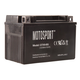 Motosport Maintenance-Free Battery with Acid