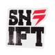 Shift Typecast Die Cut Sticker