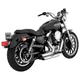 Vance & Hines Shortshots Staggered Motorcycle Exhaust (CARB)