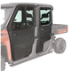 Polaris Lock & Ride Pro-Fit Hinged Window Front Door and Rear Poly Door Kit