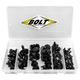 Bolt Nylon Rivet Assortment 120 Piece Kit