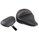 Mustang Wide Vintage Solo Seat with Driver Backrest