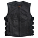 Hot Leathers Adjustable Leather Motorcycle Vest