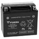 YUASA No Maintenance Battery with Acid
