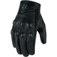 Icon Pursuit Touchscreen Perforated Motorcycle Gloves