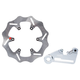 Braking Oversize Rear Brake Rotor Kit