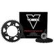 Vortex V3 GFRA Go Fast 520 Conversion Chain and Sprocket Kit