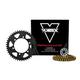 Vortex V3 SSA Super Street Chain and Sprocket Kit