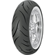Avon Cobra AV72 Wide White Sidewall Rear Motorcycle Tire