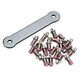 Tusk Billet Race Foot Pegs Replacement Tooth Kit