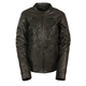 Milwaukee Leather Women's Reflective Stars Leather Jacket