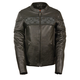 Milwaukee Leather Women's Crossover Reflective Leather Jacket