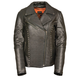 Milwaukee Leather Women's Rivited Classic Leather Jacket
