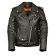 Milwaukee Leather Women's Full Length Traditional Leather Jacket