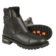 Milwaukee Leather Super Clean Double Side Zipper Motorcycle Boots