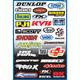 Factory Effex Sponsor Sticker Kit A-3