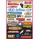 Factory Effex Sponsor Sticker Kit B-3