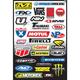 Factory Effex Sponsor Sticker Kit C-3