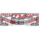 Nuetech Tubliss Gen 2.0 (Tubeless) Tire System Rim Sticker Kit