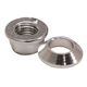 Tusk Universal Chrome Flange/Tapered Locking Lug Nut Set