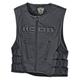 Icon Regulator D3O Leather Vest