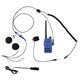 Rugged Radios RH5R Motorcycle/ATV Radio Kit