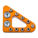 Clean Speed Standard Brake Pedal Pad