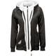 Fly Racing Women's Track Zip-Up Hooded Sweatshirt