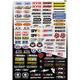 Factory Effex Micro Sponsor Sticker Kit