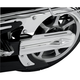 Show Chrome Accessories Contoured Swing Arm Cover