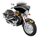Memphis Shades 7 Inch Batwing Fairing Windshield